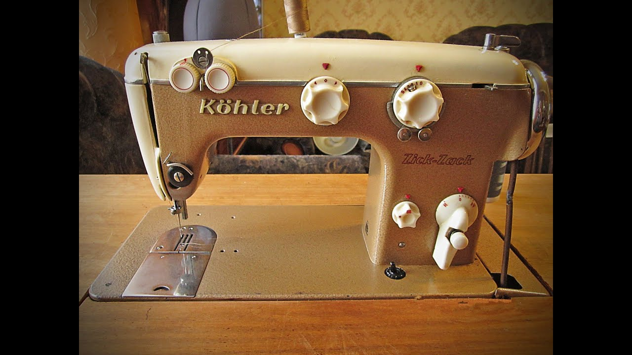 Вышивка на подольской швейной машине 15