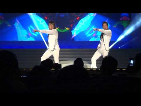 """STAYIN' ALIVE"" by Ryan & Hanson Truong at Planet Hollywood Casino/Resort in Las Vegas!"