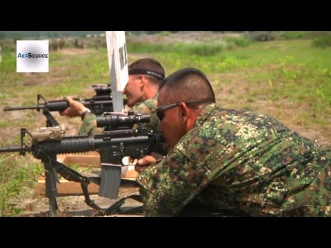Philippine Marines and U.S. Marines Hone Military Skills Through Competition