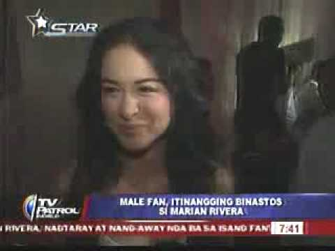 TV Patrol World: Marian Rivera Nagtaray!