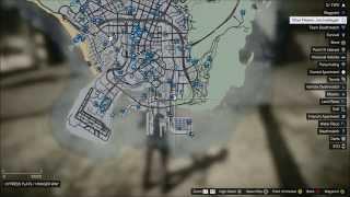 GTA V Online Locations of 10 Different Gang Attacks