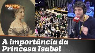 """Coppolla ressalta importância de Princesa Isabel e critica movimento """"rubro-negro"""""""