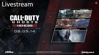 Call of Duty Ghosts Multiplayer Livestream Part 8: Nemesis DLC (Xbox One)