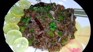Pyaaz Qeema | Recipe | BY FOOD JUNCTION