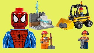 The Amazing Spiderman Toys Lego City Demolition Set 60027