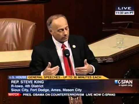GOP Rep Steve King: Reagan's Amnesty Act 'Brought About' Obama's Election, 'Wouldn't Be Pres.' Witho
