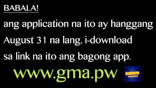 Kapuso ka ba? Free tv shows here on your android! Free!