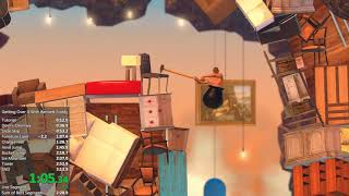 Getting Over It with Bennett Foddy - 2m 59s Speedrun