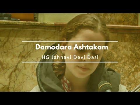 HG Jahnavi Devi Dasi  - Damodar Ashtakam (Budapest 2012)