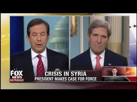 Chris Wallace Interviews John Kerry on Syria - Fox News Sunday - September 1, 2013