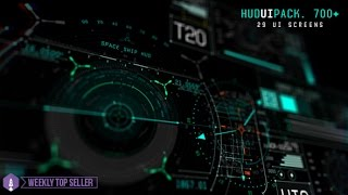 Hud UI Pack 700+ - After Effects Template - Videohive