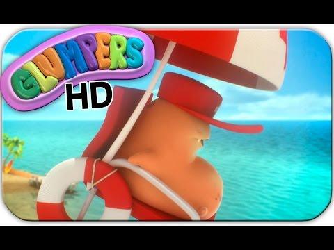 Glumpers HD - ep.21 VIGILANTE DE LA PLAYA. Dibujos comicos