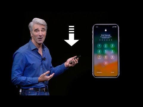 iPhone X Face ID Unlock Fail