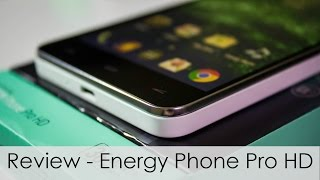 Review Energy Phone Pro HD + SORTEO