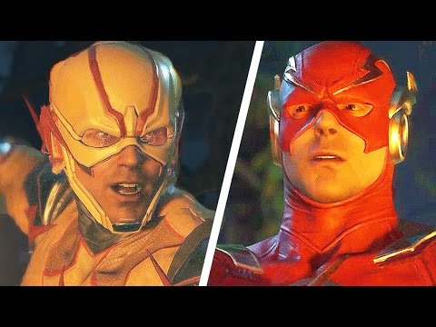 INJUSTICE 2 Gameplay The Flash Bane Reverse Flash PS4/Xbox One