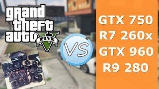Тестирование GTA 5 с разными видеокартами