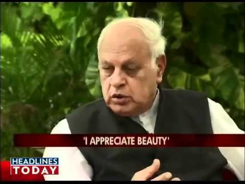 On the Couch with Koel - Farooq Abdullah on On the Couch.