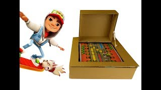 How to Make Subway Surfer 2 Game from Cardboard