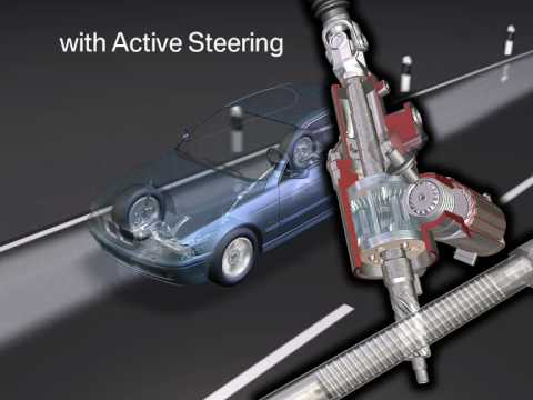 BMW Active steering