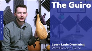 The Guiro Pattern in Chachacha Music | Intro. to Latin Drumming | Video Lesson