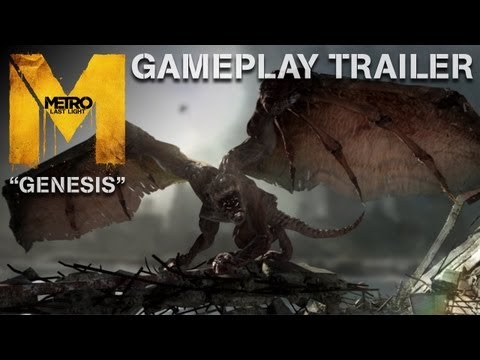 Metro: Last Light - Genesis - Gameplay Trailer (Official U.S. Version)