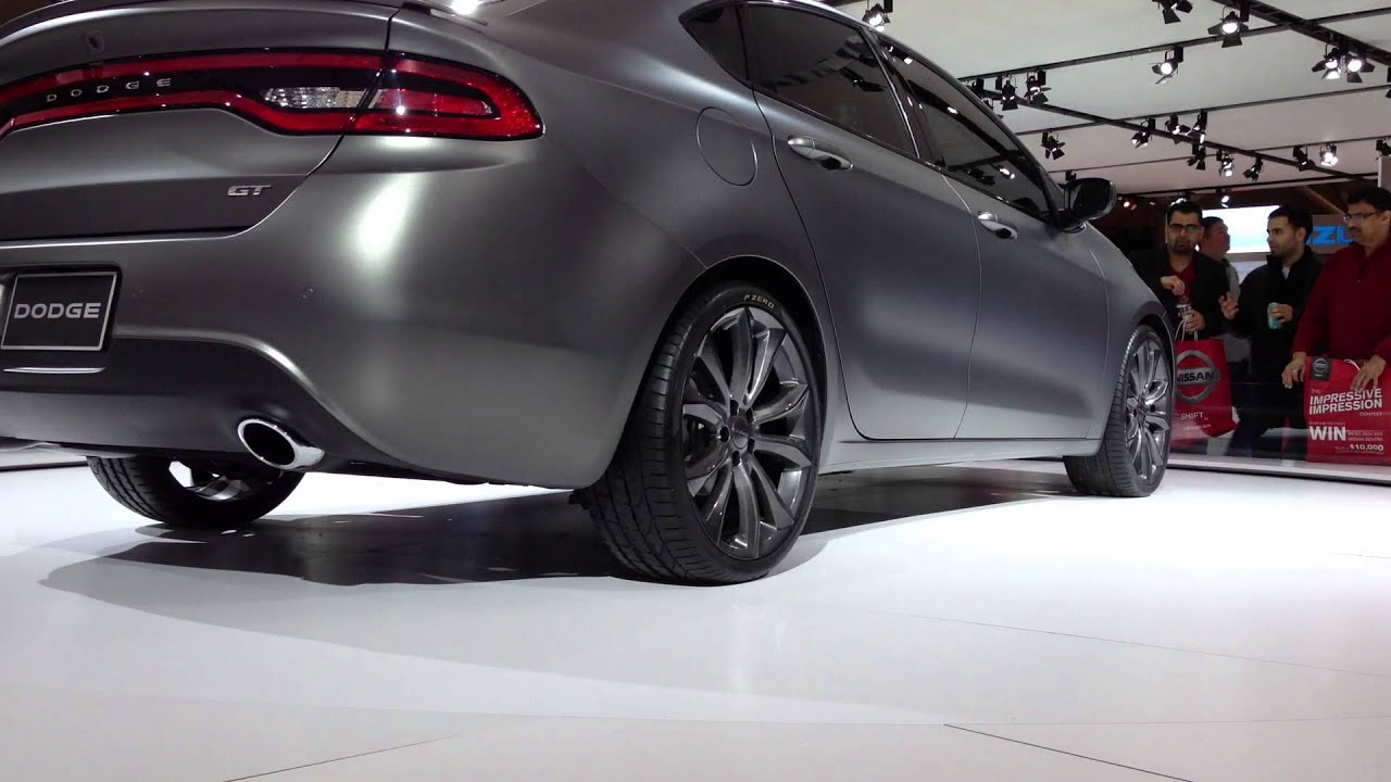 2014 Dodge Dart Gt 2 4l 360 View Full Hd At Car Show Youtube