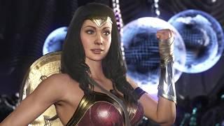 Injustice 2 - Wonder Woman vs Boss Grid