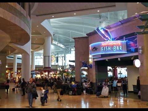 Seattle-Tacoma International Airport (KSEA/SEA) Terminal D.