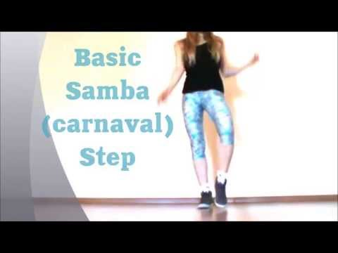 Basic Samba Step. Easy Dance Lesson By Ehaby. video