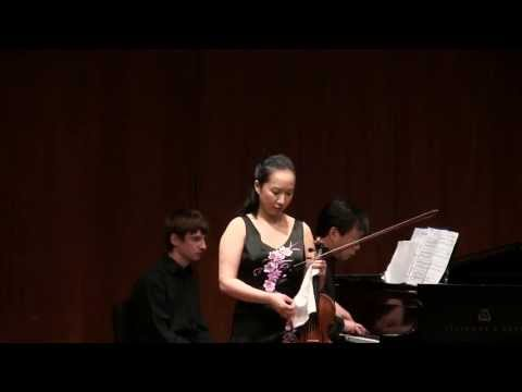 Wen-Lei Gu Plays Chausson Poeme in Recital