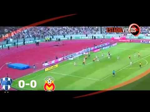 Monterrey vs Morelia 1-0 Jornada 15 LIGA MX 2015