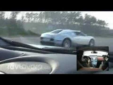 Bugatti Veyron vs Mclaren SLR Video