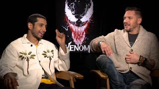 Venom: Tom Hardy & Riz Ahmed Official Movie Interview