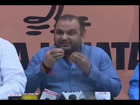 All allegations of Aam Aadmi Party are false. Arvind Kejriwal must resign - Shri Maheish Girri