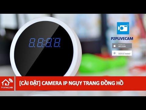 [CÀI ĐẶT] Camera Ngụy Trang Đồng Hồ HD720P