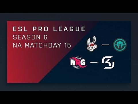CS:GO: Misfits vs. Immortals | NRG vs. SK - Day 15 - ESL Pro League Season 6 - NA Main