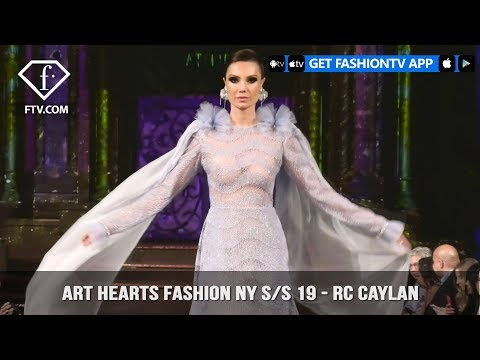 Art Hearts Fashion New York S/S 2019 - RC Caylan | FashionTV | FTV
