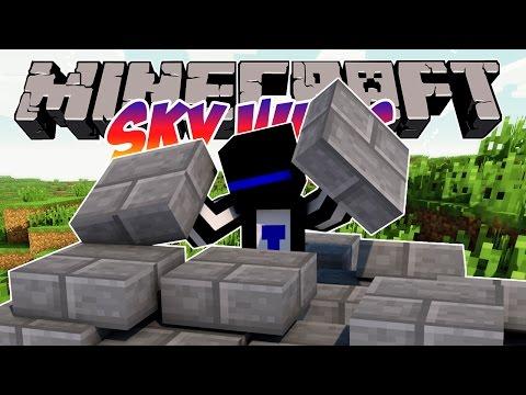 Minecraft Sky Wars: Ненавижу полублоки! 78