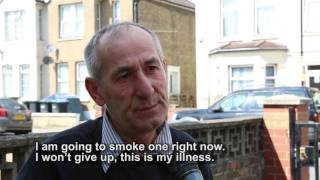 WHAT DO SMOKERS IN ENFIELD SAY (short 9m30s)