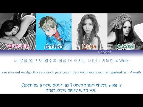 f(x) (에프엑스) - 4 Walls (Color Coded Han|Rom|Eng Lyrics) | by YankaT
