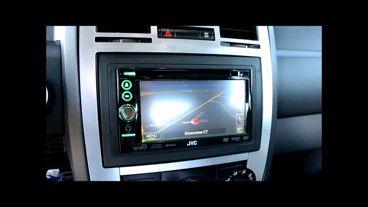 Changing Chrysler 300 1 5 Din To Executive Gps Double Din