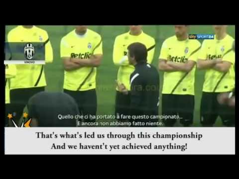 Antonio Conte Badass Speech in Training