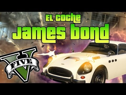 GTA V Online - Hacks - Coche de JAMES BOND que dispara bombas!!