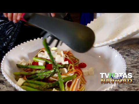 Violeta Isfel nos enseña a preparar una deliciosa pasta tricolor