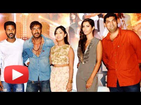 Ajay Devgn, Yami Gautam, Prabhudeva Unveil The Trailer Of Action Jackson