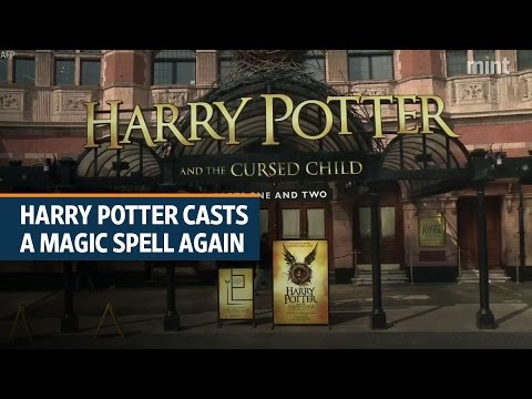 Harry Potter casts a magic spell again with 'Cursed Child' sales | Video