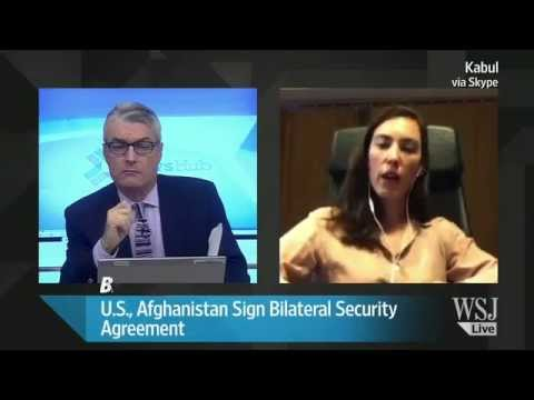 U.S., Afghanistan Sign Bilateral Security Agreement