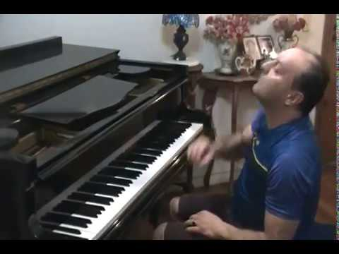 let it go frozen disney lyrics/ musica romantica the voice globo brasil/ piano solo instrumental