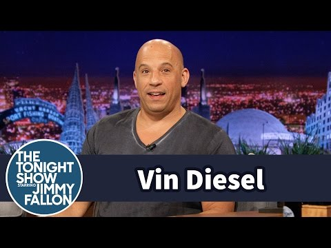 Vin Diesel First Met Paul Walker in the Tonight Show's L.A. Studio