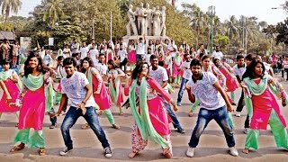 Rag day Dance of Department of Political Science at Dhaka University